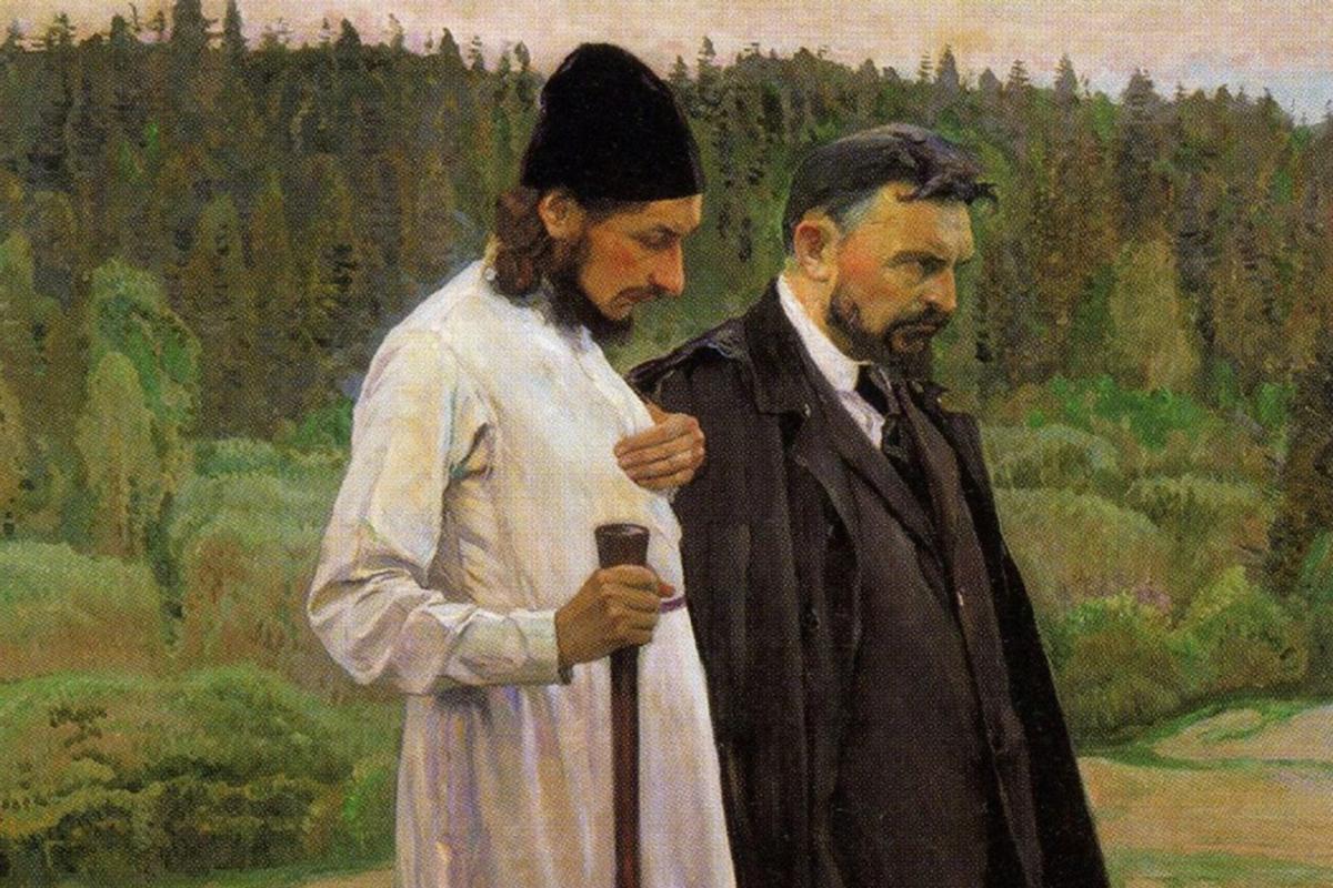Музейные среды: М.В.Нестеров