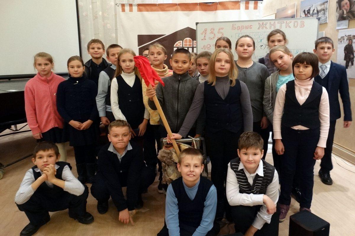 135 лет Б. Житкову