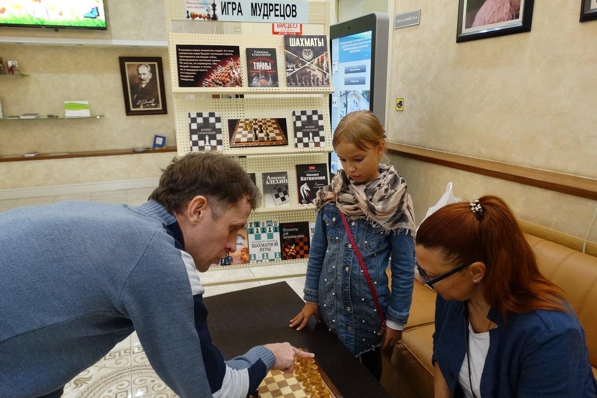 Шахматный мастер-класс