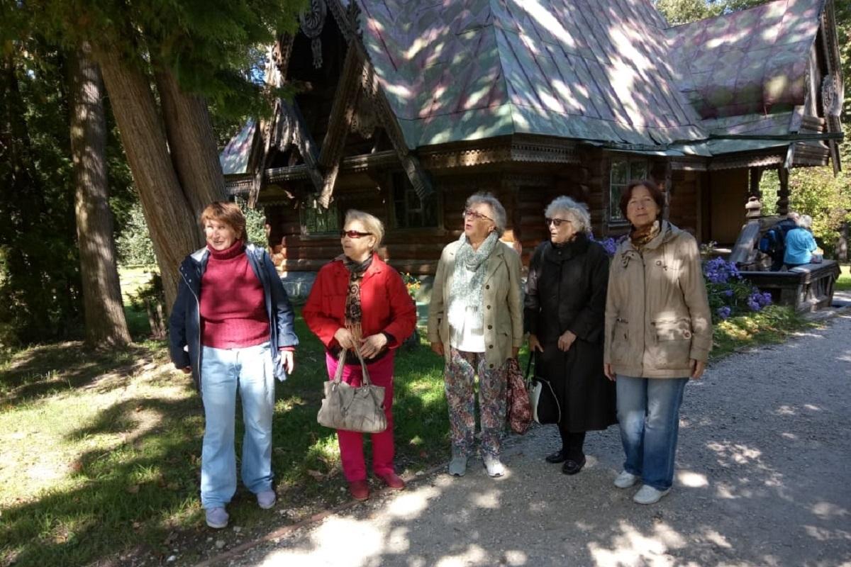 Поездка в Абрамцево